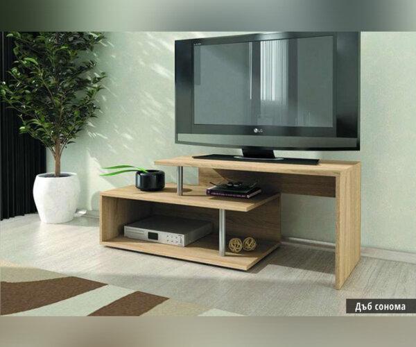 ТВ шкаф Алфа 50 в 3 цвята