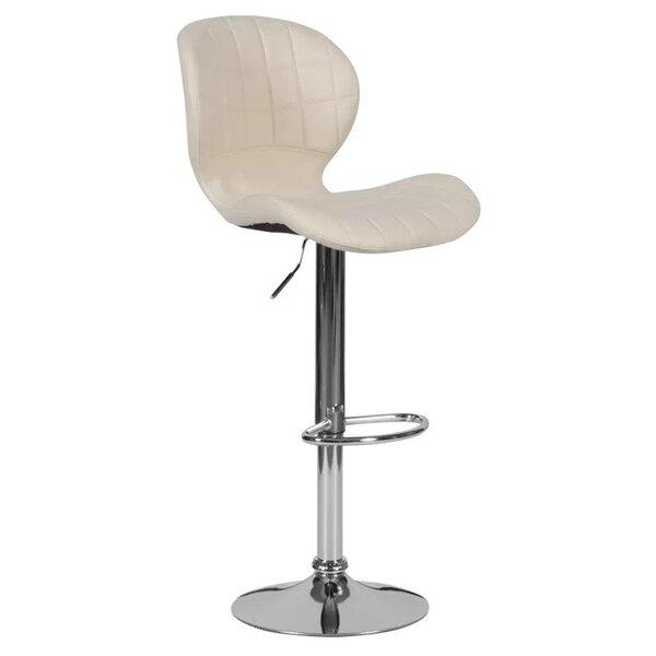 Бар стол Carmen 4055 в 3 цвята бял, черен, крем