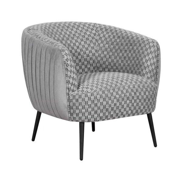 Сиво кресло INGE
