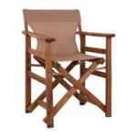 Дървен градински стол Лимнос в 6 цвята