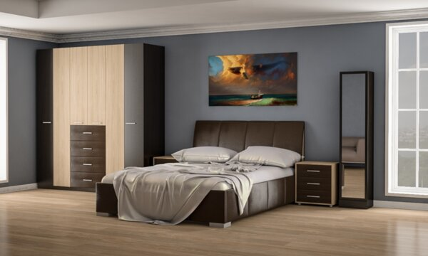 Спален комплект Каролина 160x200
