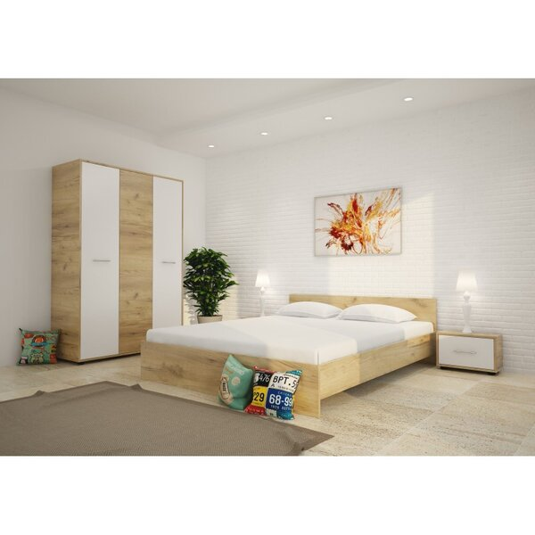 Спален комплект ХЕРА 160x200 в 2 цвята