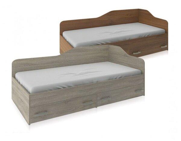 Единично легло с 2 чекмеджета НАНО в 2 размера