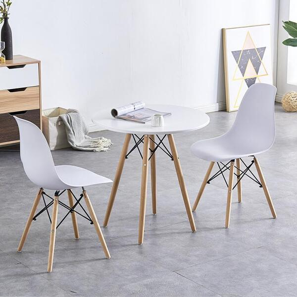 Комплект маса Ф80 с два стола Осло