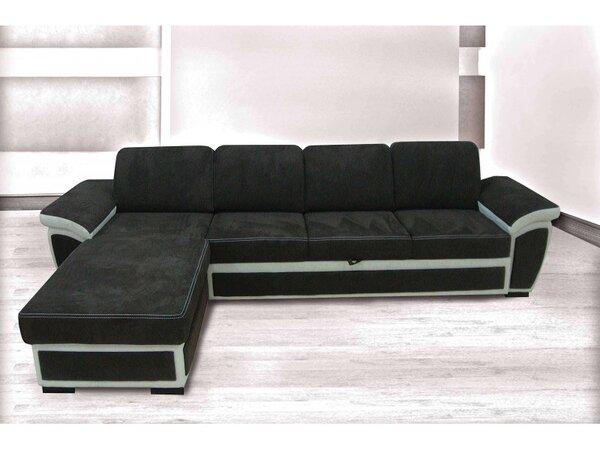 Ъглов холов диван БЕГОНИЯ XL с функция сън