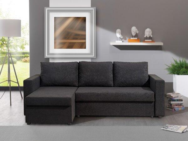 Ъглов холов диван БЕРТА с функция сън