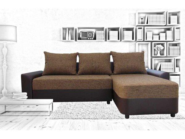 Ъглов холов диван ВИТОША с функция сън