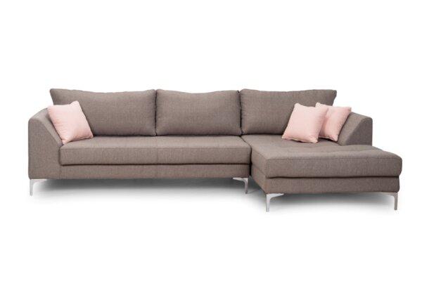 Ъглов холов диван Милано