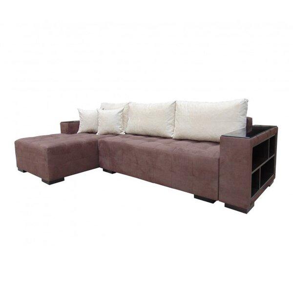 Холов ъглов диван с функция сън и ракла МИШЕЛ