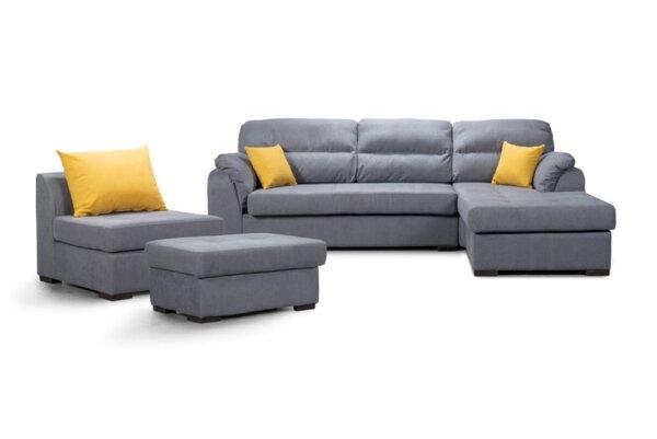 Холова гарнитура СОФИЯ 5 диван + фотьойл + табуретка
