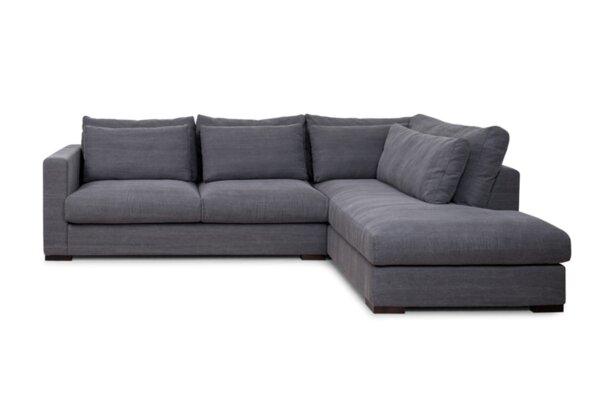 Ъглов холов диван ХАКО с опция за функция сън