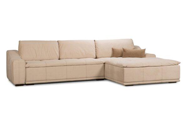 Ъглов холов диван ФЕЛИНИ с функция сън