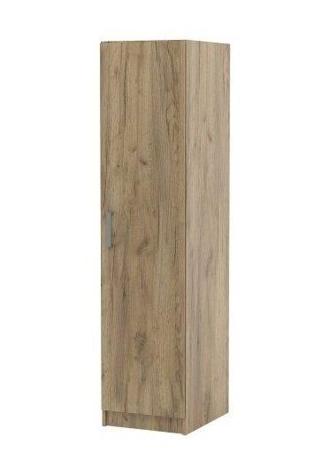 Еднокрилен гардероб ТОП 1 с 4 рафта в 2 цвята