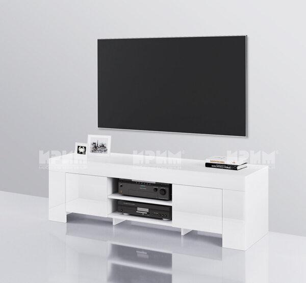 ТВ шкаф СИТИ 6249 в бяло