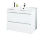 Долен PVC шкаф за баня с мивка Макена Емили