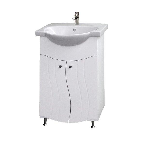 Долен шкаф за баня с мивка Макена Тринити