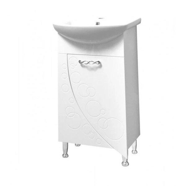 Долен шкаф за баня с умивалник Макена Лолита