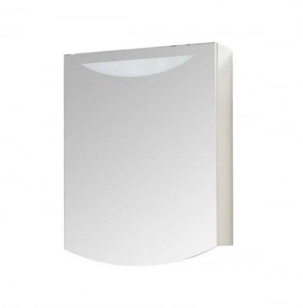 Горен шкаф за баня с огледало и LED Макена Лолита