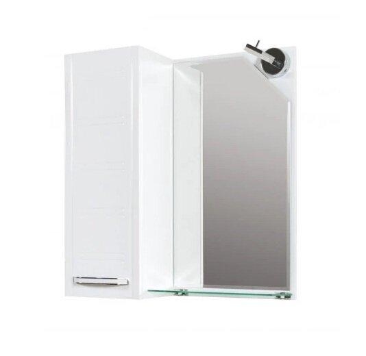 Горен шкаф за баня с огледало Макена Нео