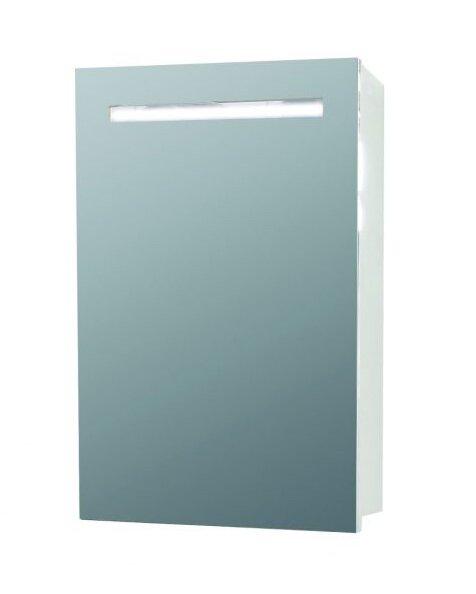 Горен шкаф за баня с огледало Макена Кико