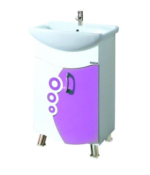 Долен шкаф за баня с умивалник Макена Дропс