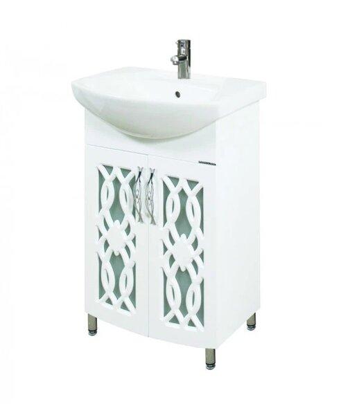 Долен PVC шкаф за баня с мивка Макена Алабама