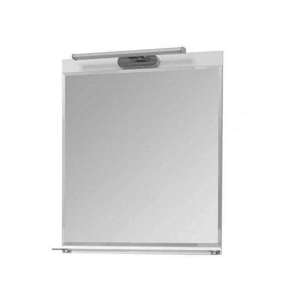 Огледало за баня с полица и LED Макена Бони