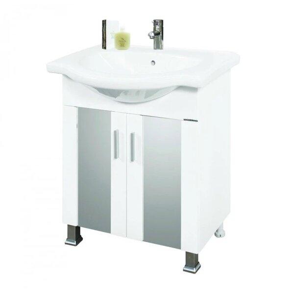 Долен шкаф за баня с мивка Макена Омония