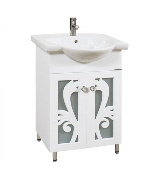 Долен шкаф за баня с мивка Макена Диби