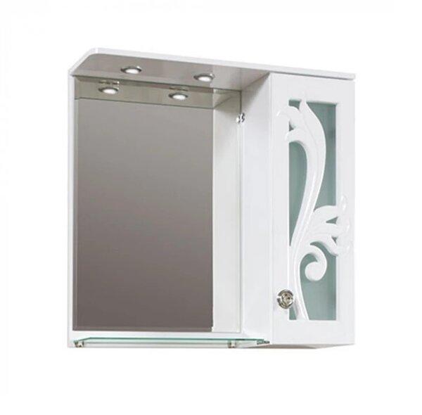 Горен PVC шкаф за баня с огледало Макена Диби