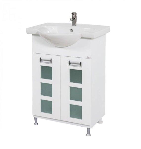 Долен шкаф за баня с мивка Макена Венера
