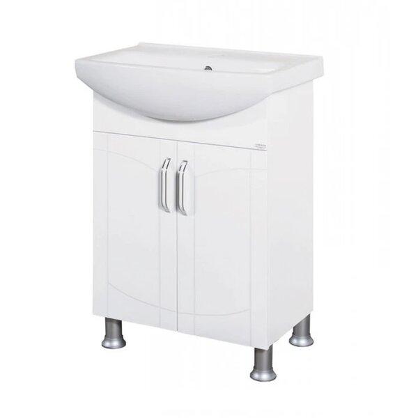 Долен PVC шкаф за баня с умивалник Макена Европа