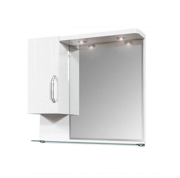 Горен PVC шкаф за баня с огледало Макена Европа