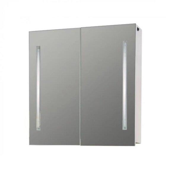 Горен PVC шкаф за баня с огледало Макена Каприз