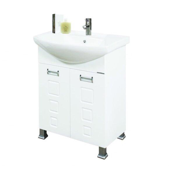 Долен шкаф за баня с мивка Лагуна Макена