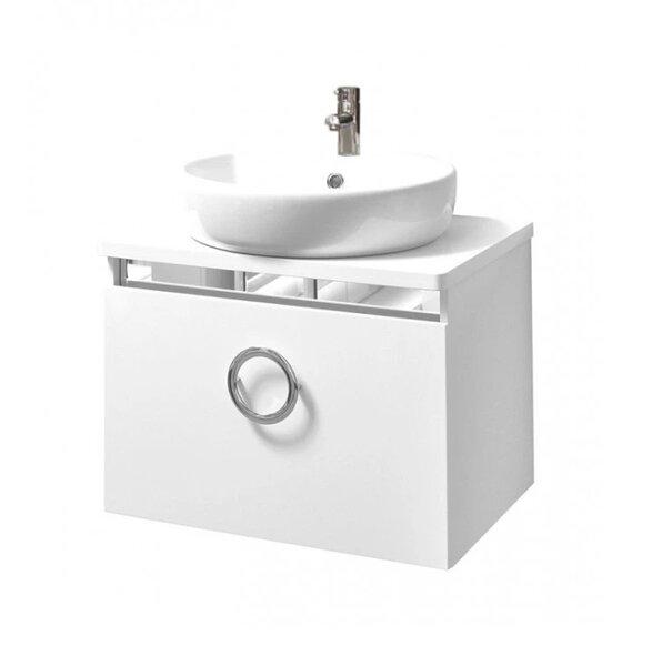 Долен шкаф за баня с мивка Макена Лайт