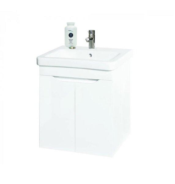 Долен PVC шкаф за баня с мивка Макена Хелиос