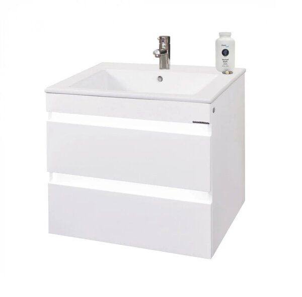 Долен шкаф за баня с умивалник Макена Дона