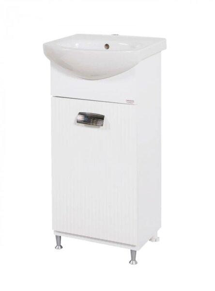 Долен шкаф за баня с мивка Макена Лео