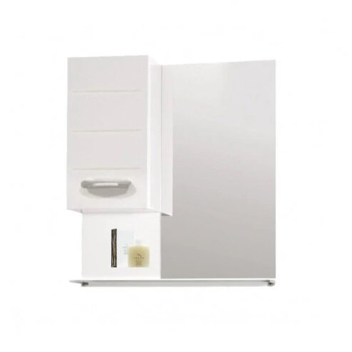 Горен шкаф за баня с огледало Макена Инна
