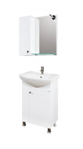 Комплект мебели за баня Макена Лазур