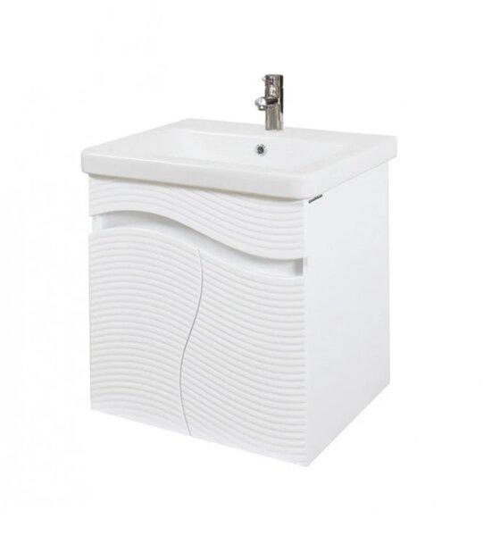 Долен шкаф за баня с мивка Макена Чеби
