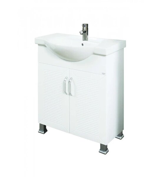 Долен PVC шкаф за баня с мивка Макена Кери