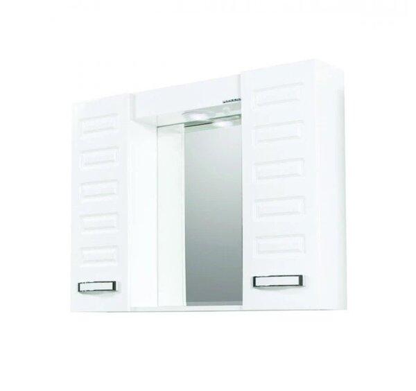 Горен PVC шкаф за баня с огледало Макена Диди