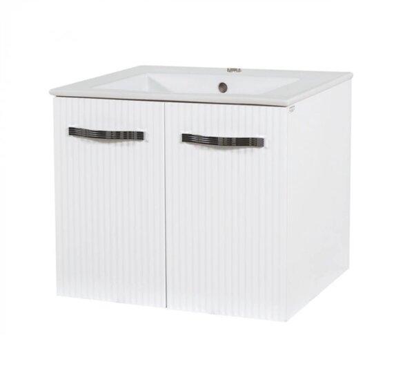 Долен шкаф за баня с мивка Макена Лариса