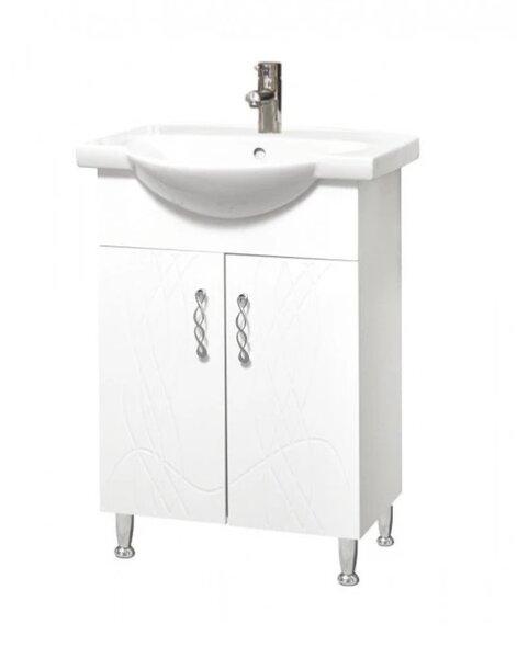 Долен шкаф за баня с умивалник Макена Бети