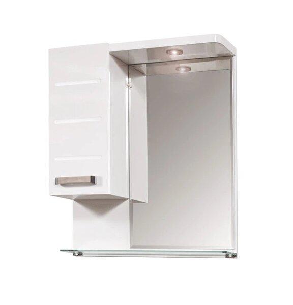 Горен шкаф за баня с огледало Макена Класика