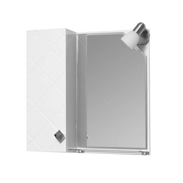 Горен шкаф за баня с огледало Макена Орбита