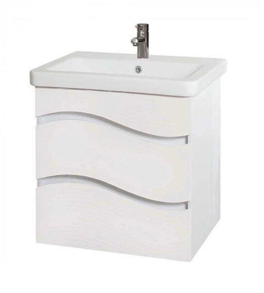 Долен шкаф за баня с мивка Макена Галакси