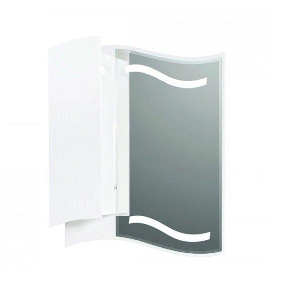 Горен PVC шкаф за баня с огледало Макена Галакси